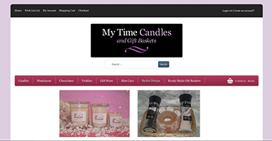 My Time Candles Taukau
